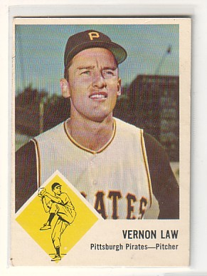 1963 Fleer #58 Vern Law