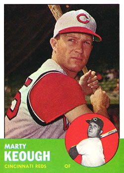 1963 Topps #21 Marty Keough