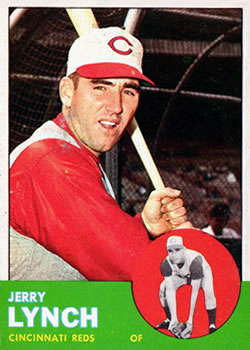 1963 Topps #37 Jerry Lynch