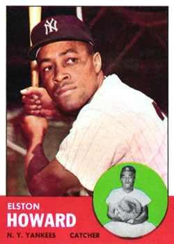 1963 Topps #60 Elston Howard