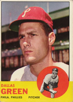 1963 Topps #91 Dallas Green