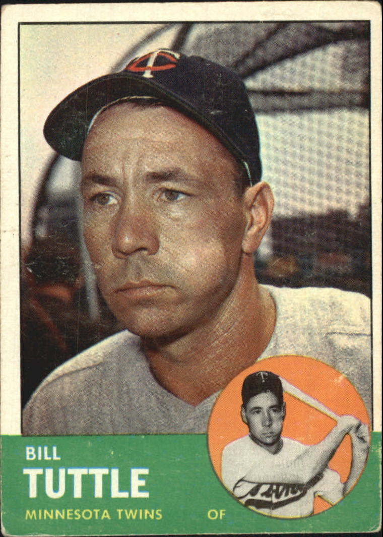 1963 Topps #127 Bill Tuttle