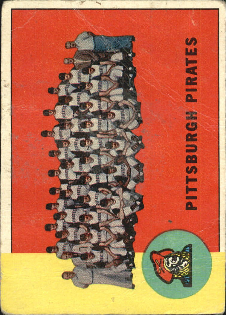 1963 Topps #151 Pittsburgh Pirates TC