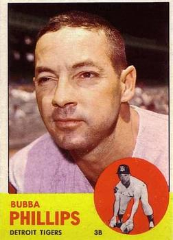 1963 Topps #177 Bubba Phillips