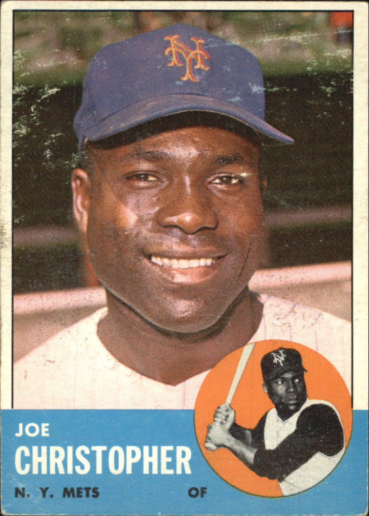1963 Topps #217 Joe Christopher
