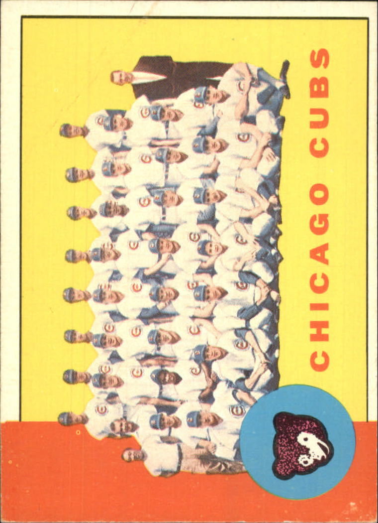 1963 Topps #222 Chicago Cubs TC