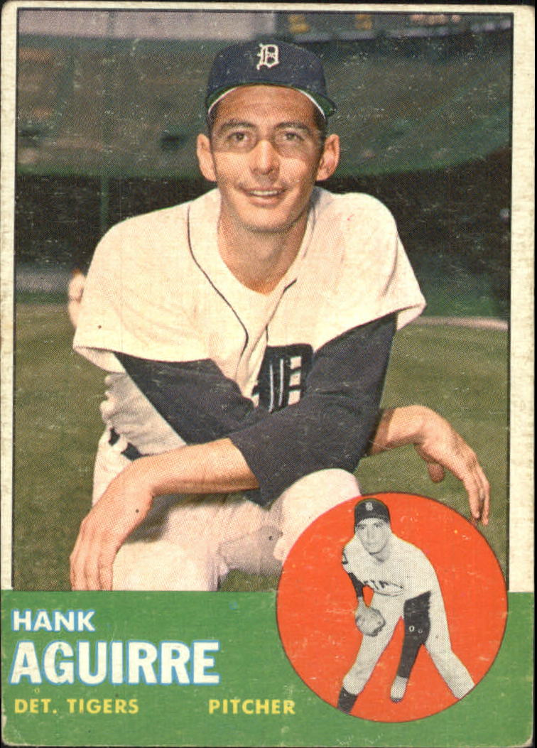 1963 Topps #257 Hank Aguirre