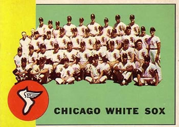 1963 Topps #288 Chicago White Sox TC