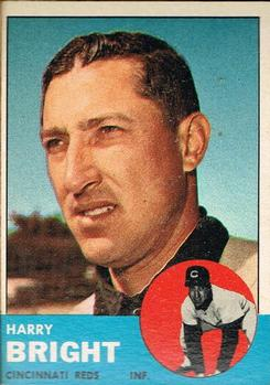 1963 Topps #304 Harry Bright