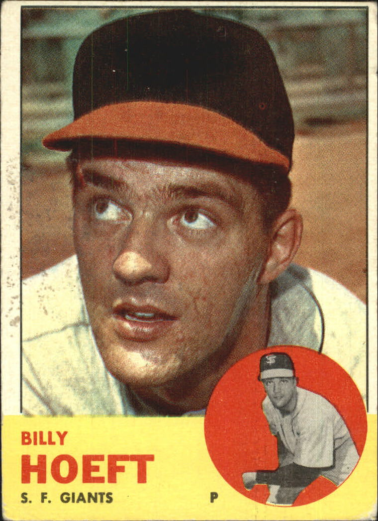 1963 Topps #346 Billy Hoeft