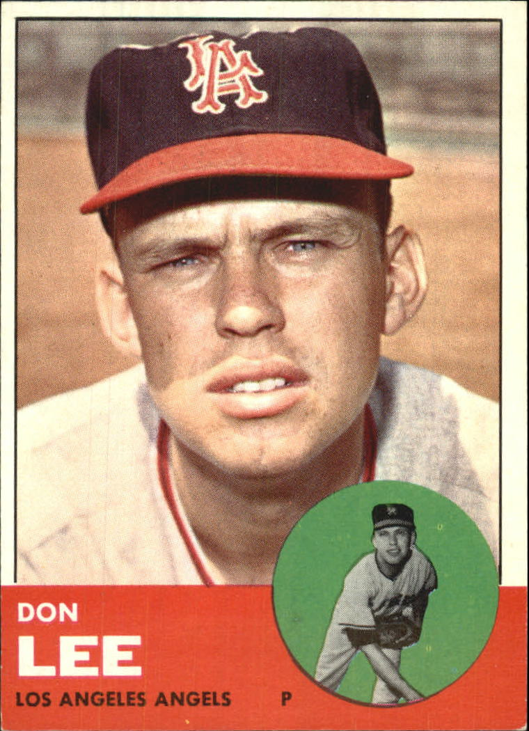 1963 Topps #372 Don Lee