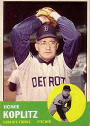 1963 Topps #406 Howie Koplitz