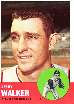 1963 Topps #413 Jerry Walker