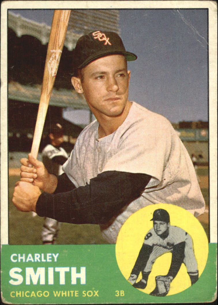 1963 Topps #424 Charlie Smith