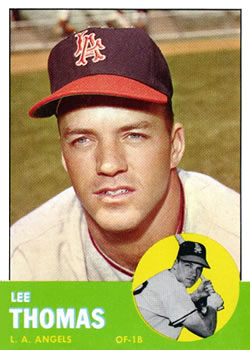 1963 Topps #441 Lee Thomas