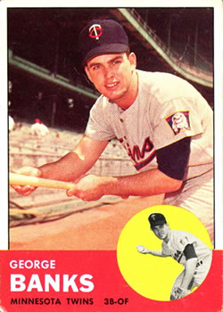 1963 Topps #564 George Banks RC