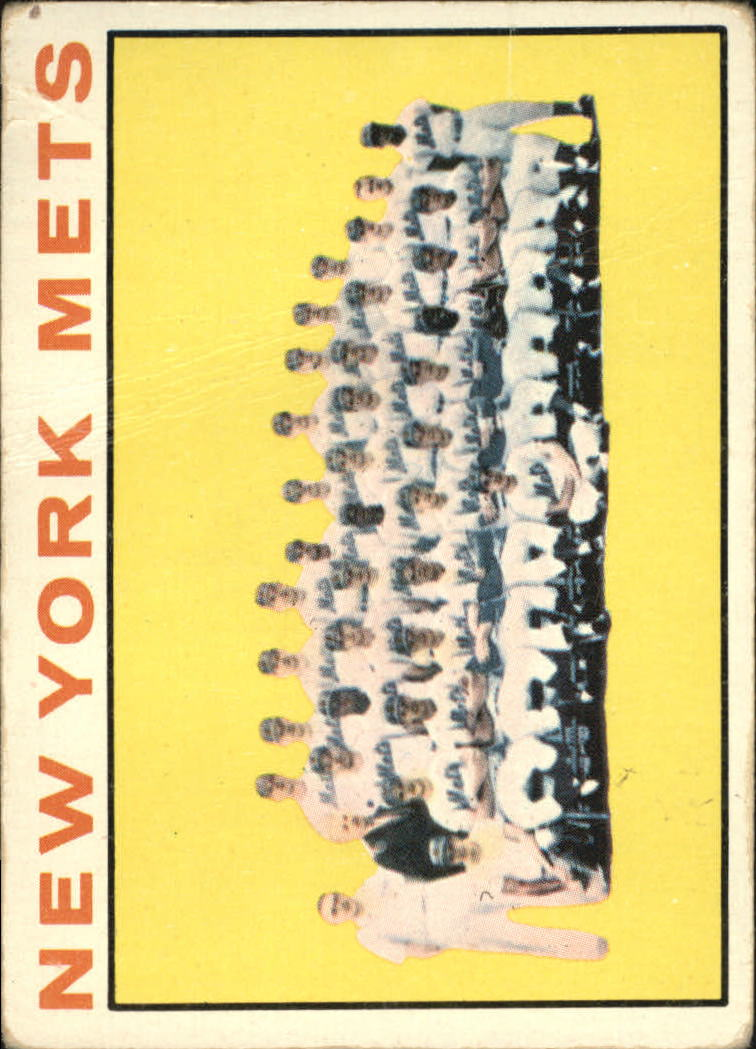 1964 Topps #27 New York Mets TC