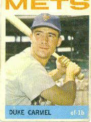 1964 Topps #44 Duke Carmel