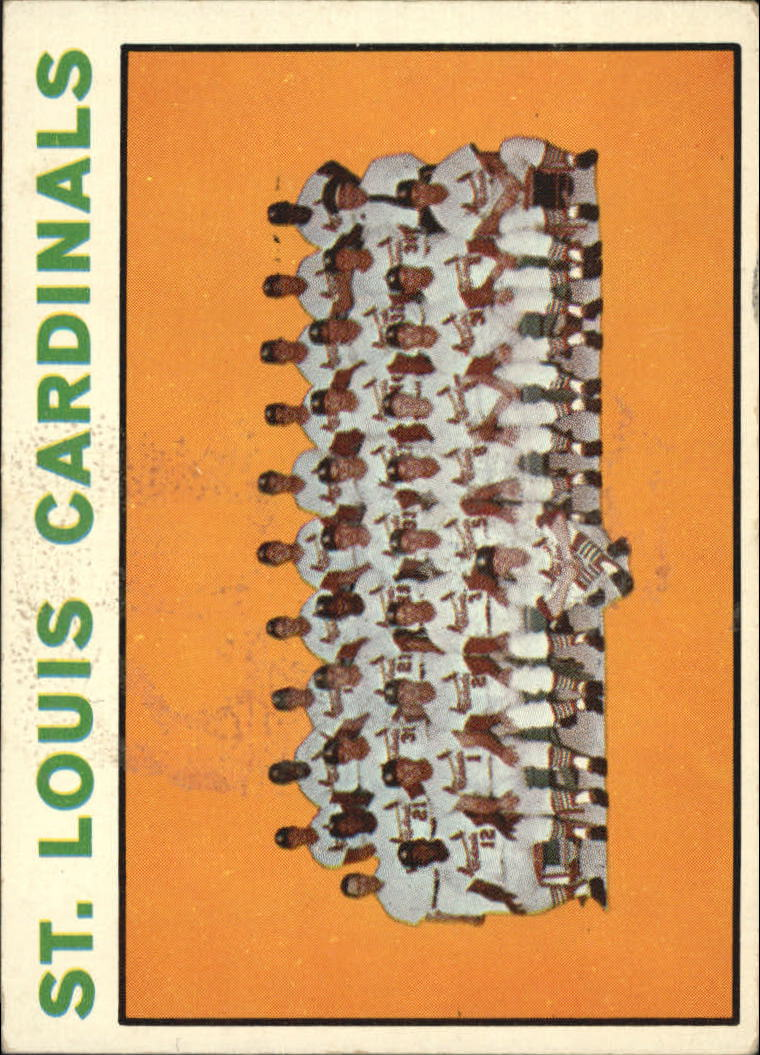 1964 Topps #87 St. Louis Cardinals TC