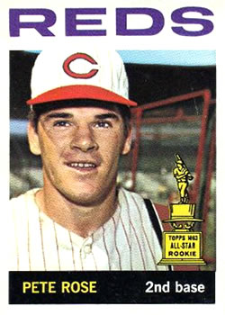 1964 Topps #125 Pete Rose UER/Born in 1942