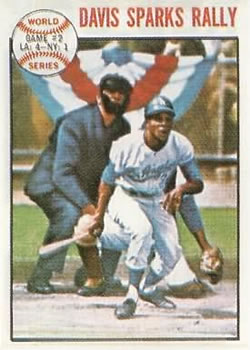1964 Topps #137 World Series Game 2/Willie Davis