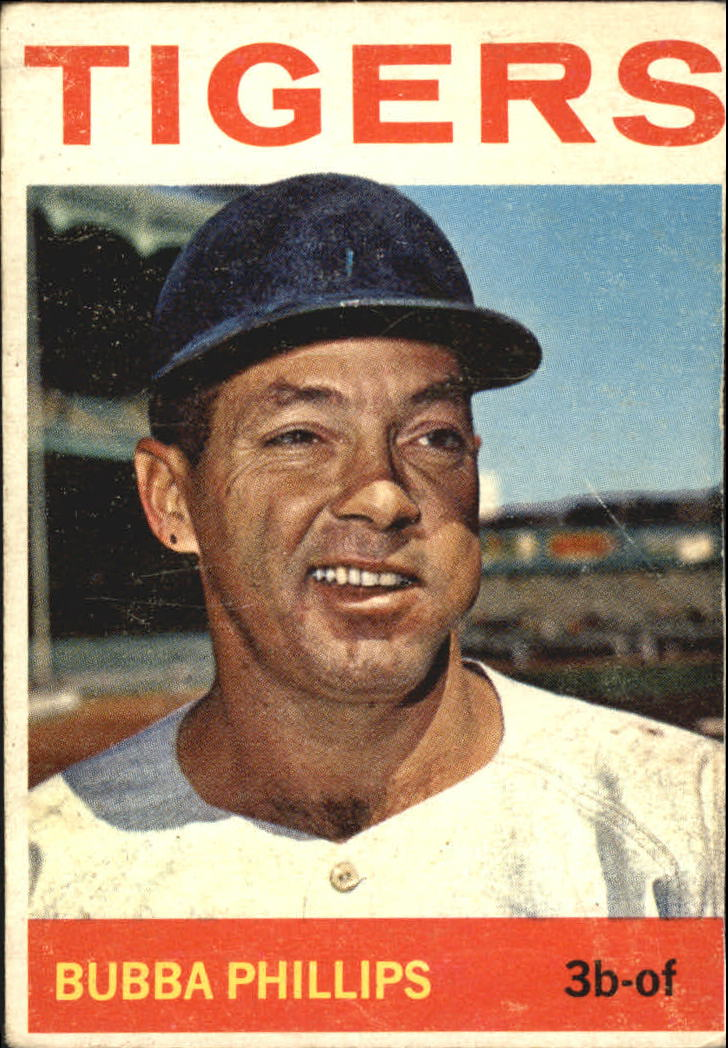 1964 Topps #143 Bubba Phillips