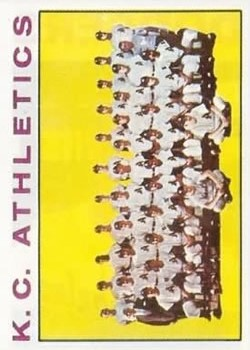 1964 Topps #151 Kansas City Athletics TC