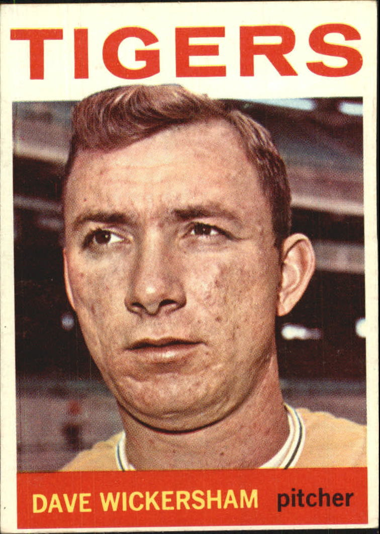 1964 Topps #181 Dave Wickersham
