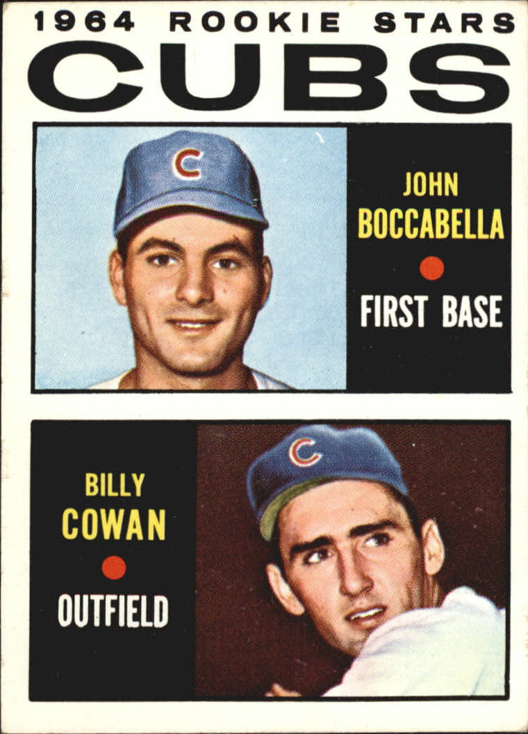 1964 Topps #192 Rookie Stars/John Boccabella RC/Billy Cowan RC