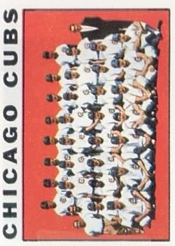1964 Topps #237 Chicago Cubs TC
