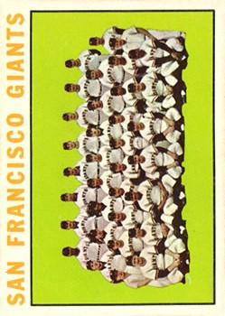 1964 Topps #257 San Francisco Giants TC