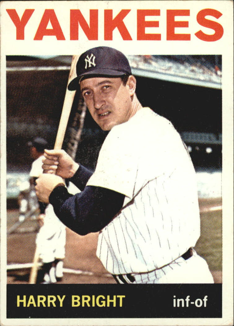 1964 Topps #259 Harry Bright front image