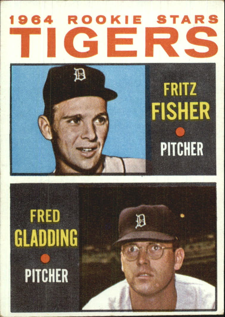 1964 Topps #312 Rookie Stars/Fritz Fisher RC/Fred Gladding RC