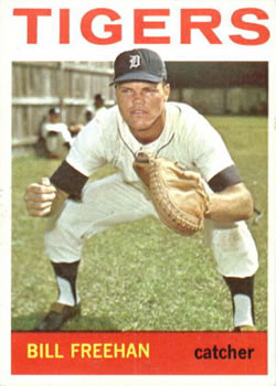1964 Topps #407 Bill Freehan
