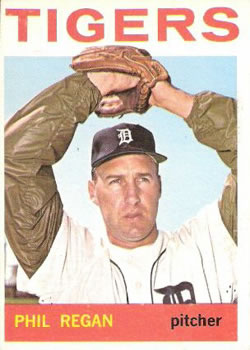 1964 Topps #535 Phil Regan