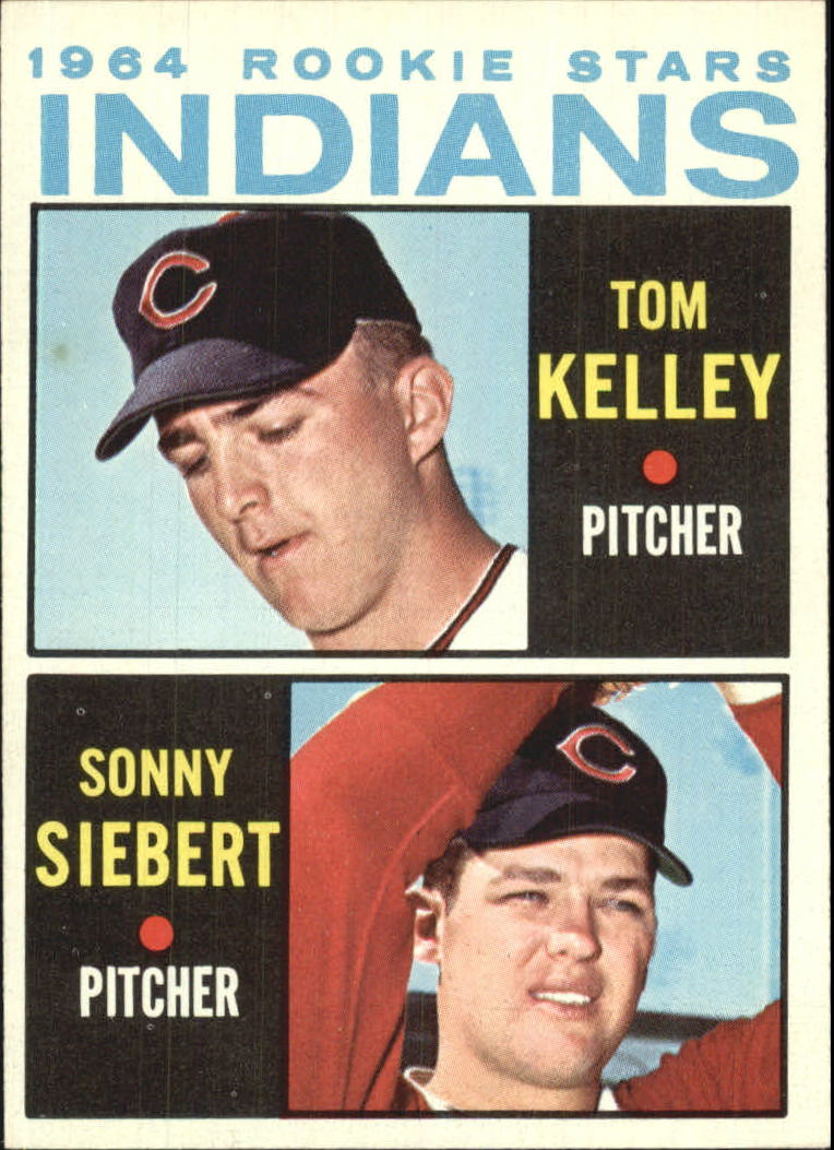 1964 Topps #552 Rookie Stars/Tom Kelley RC/Sonny Siebert RC