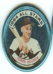 1964 Topps Coins #133 Harmon Killebrew AS