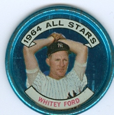 1964 Topps Coins #139 Whitey Ford AS