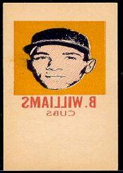 1964 Topps Tattoos Inserts #74 Billy Williams
