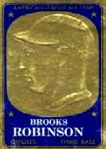 1965 Topps Embossed #16 Brooks Robinson