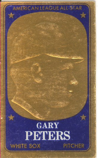 1965 Topps Embossed #18 Gary Peters