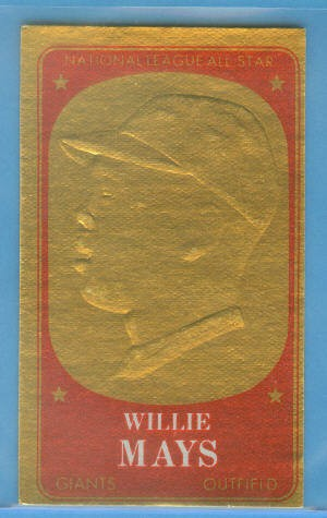 1965 Topps Embossed #27 Willie Mays