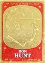 1965 Topps Embossed #35 Ron Hunt