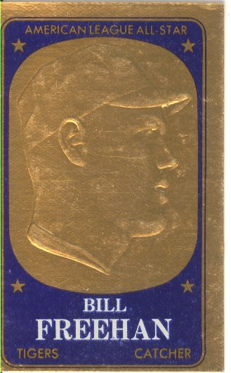 1965 Topps Embossed #41 Bill Freehan