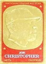 1965 Topps Embossed #52 Joe Christopher