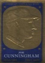 1965 Topps Embossed #63 Joe Cunningham