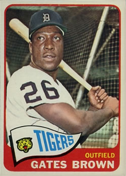 1965 Topps #19 Gates Brown