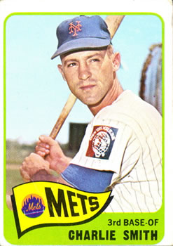 1965 Topps #22 Charlie Smith