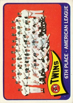 1965 Topps #24 Minnesota Twins TC