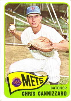 1965 Topps #61 Chris Cannizzaro